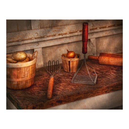 Chef - Food - Equipment for making Latkes Custom Flyer
