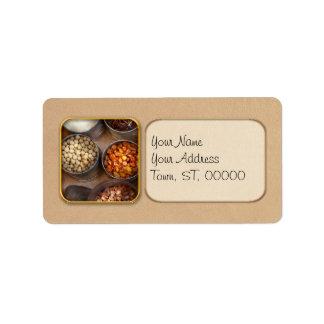 Chef - Food - Health food Address Label