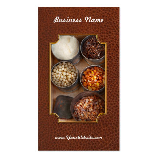 Chef - Food - Health food Pack Of Standard Business Cards