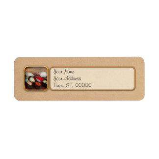 Chef - Food - Oh, I had sushi last night Return Address Label