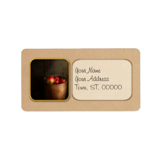 Chef - Fruit - Apples Address Label
