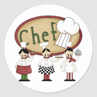 Chef Gift Stickers