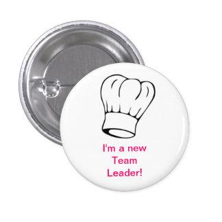Chef Hat - Team Leader 3 Cm Round Badge