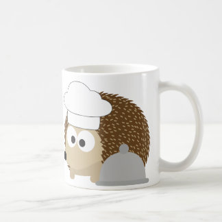 Chef Hedgehog Basic White Mug