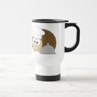 Chef Hedgehog Travel Mug