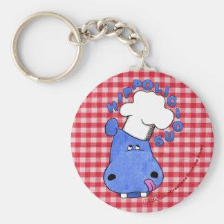 Chef Hippo- Hippolicious Keychains