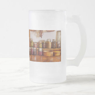 Chef - I love preserving things Frosted Glass Mug