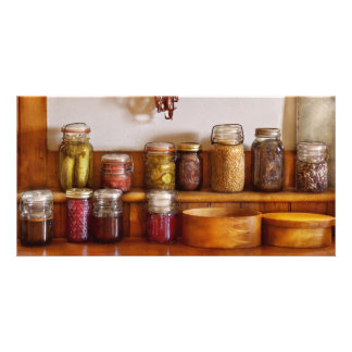 Chef - I love preserving things Picture Card