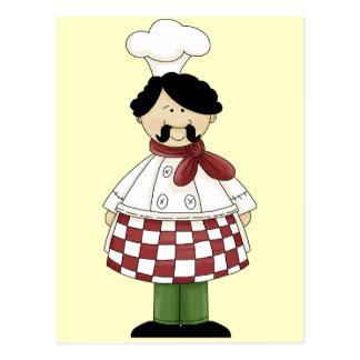 Chef I Postcard