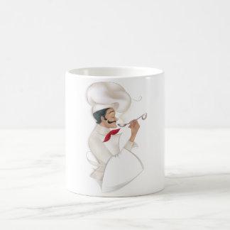 Chef illustration coffee mug