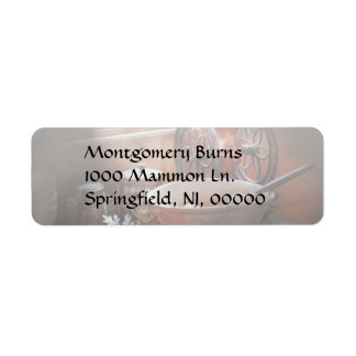 Chef - Just another morning Return Address Label