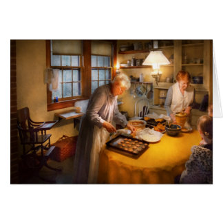 Chef - Kitchen - Coming home for the holidays Greeting Card
