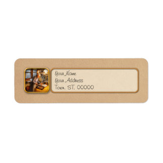 Chef - Kitchen - Coming home for the holidays Return Address Label