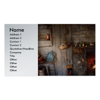 Chef - Kitchen - Home for the holidays Business Cards