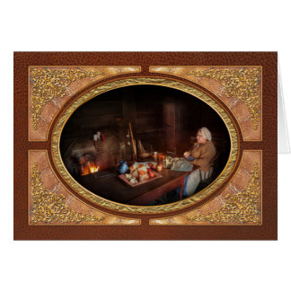 Chef - Kitchen - Maud Greeting Card
