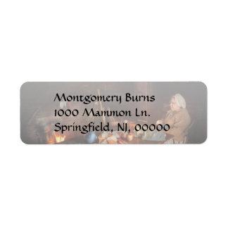 Chef - Kitchen - Maud Return Address Label