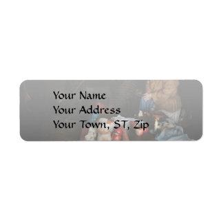 Chef - Kitchen - Today's menu Return Address Label