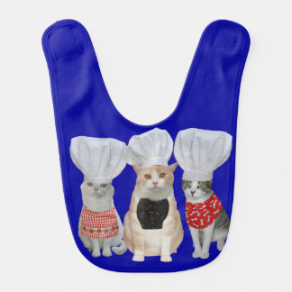 Chef Kitties Bib