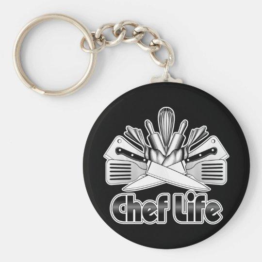 Chef Life: Kitchen Utensils Key Ring