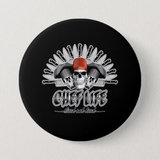 Chef Life: Sliced and Diced 7.5 Cm Round Badge