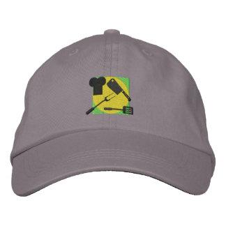 Chef Logo Embroidered Baseball Cap