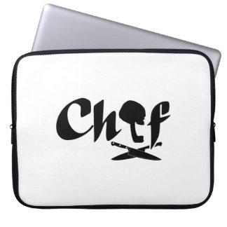 Chef Logo Laptop Computer Sleeve