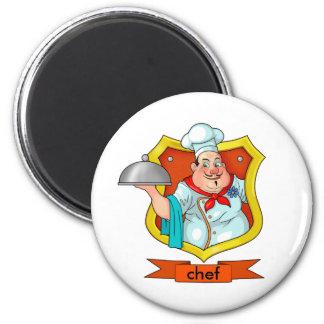chef refrigerator magnet