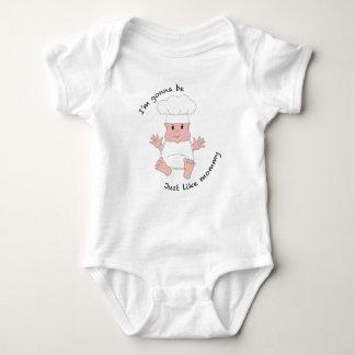 Chef mommy baby bodysuit
