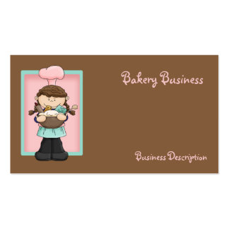 Chef Pack Of Standard Business Cards