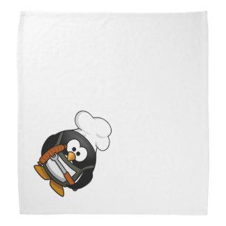 Chef Penguin Cartoon Bandana