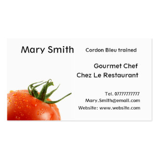 Chef / Personal Chef / Cook business cards