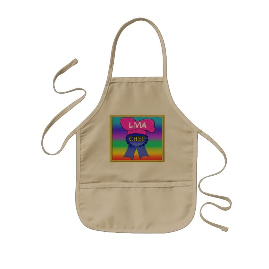 CHEF Personalised Aprons for Kids and Mum
