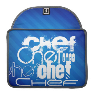 Chef; Royal Blue Stripes Sleeves For MacBooks