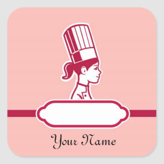 Chef s Personalized Large Labels Stickers