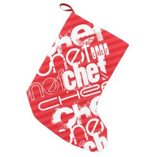 Chef; Scarlet Red Stripes
