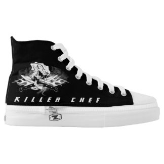 Chef Skull 1.0: Killer Chef High Tops