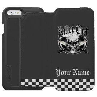 Chef Skull 1 Incipio Watson™ iPhone 6 Wallet Case