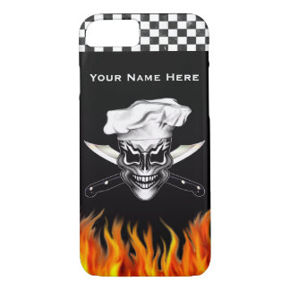 Chef Skull 1 iPhone 7 Case