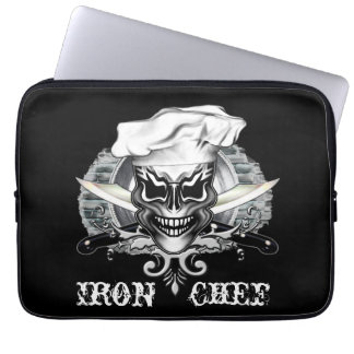 Chef Skull 1 Laptop Computer Sleeves