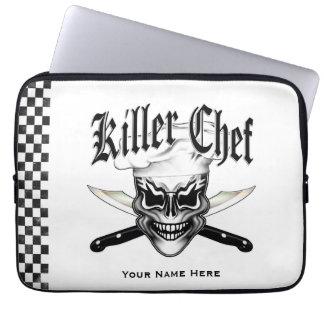 Chef Skull 1 Laptop Sleeves