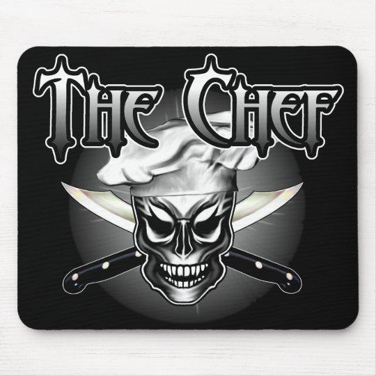 Chef Skull 1 Mouse Mat