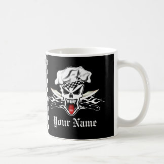 Chef Skull 2.1 Basic White Mug