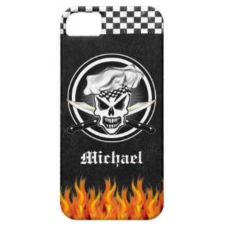 Chef Skull 2 and Crossed Chef Knives iPhone 5 Case