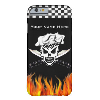 Chef Skull 2 and Crossed Knives Barely There iPhone 6 Case