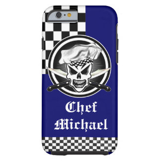 Chef Skull 2 and Crossed Knives Tough iPhone 6 Case