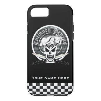 Chef Skull 2: Culinary Genius iPhone 7 Case