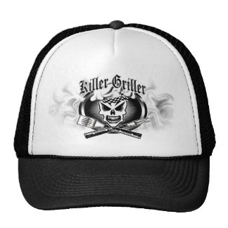 Chef Skull 2: Killer Griller and Smoke Mesh Hats