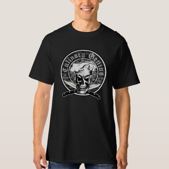 Chef Skull 3 T-Shirt
