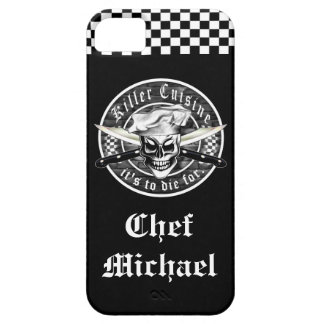 Chef Skull 4 iPhone 5 Cover