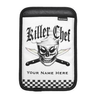 Chef Skull 4 iPad Mini Sleeve